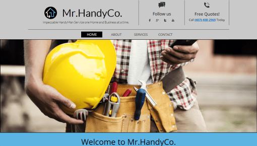 MrHandyCo Business Website Design