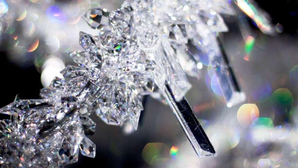 la beauté du cristal swarovski