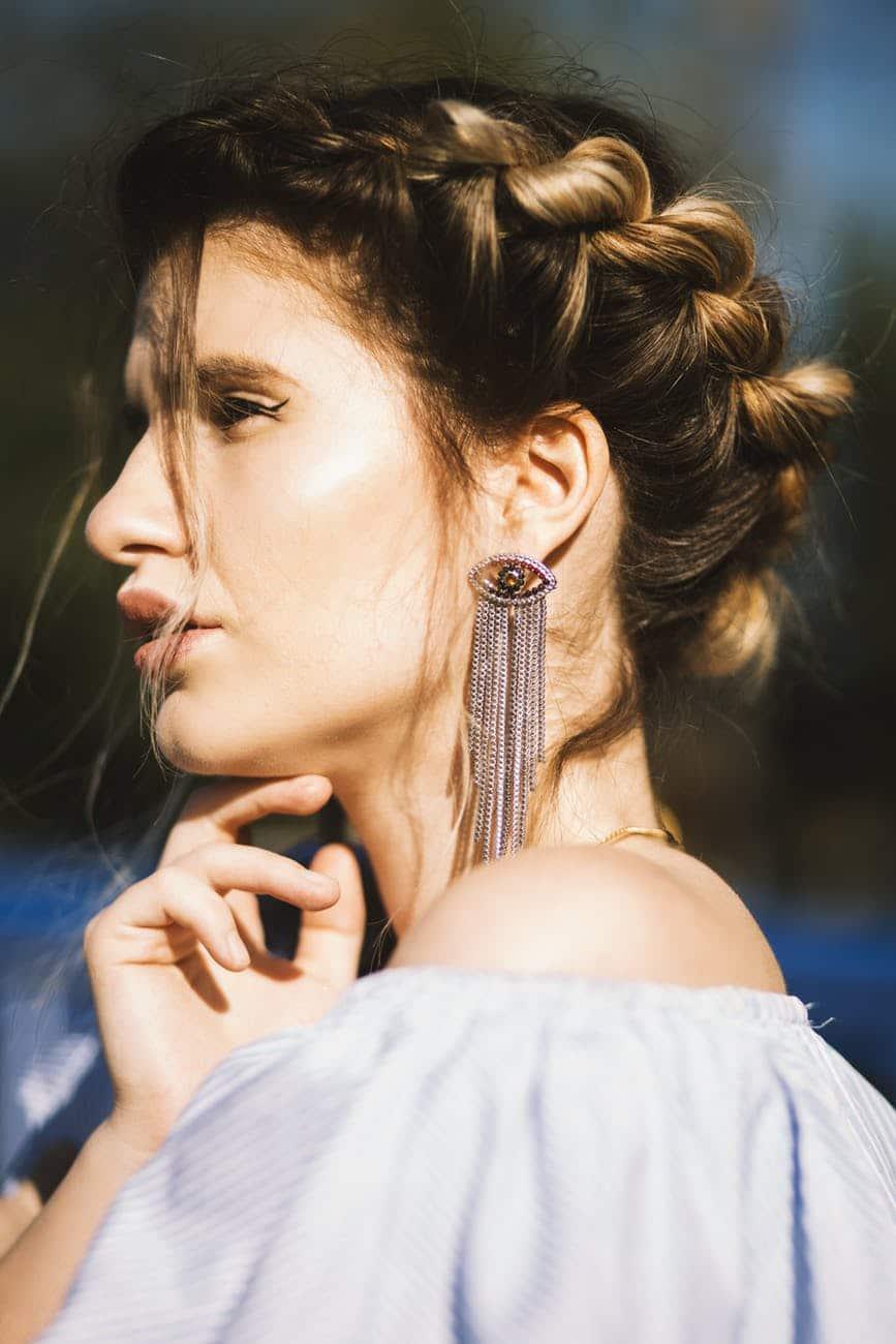 boucles d'oreilles fantaisies pas chères