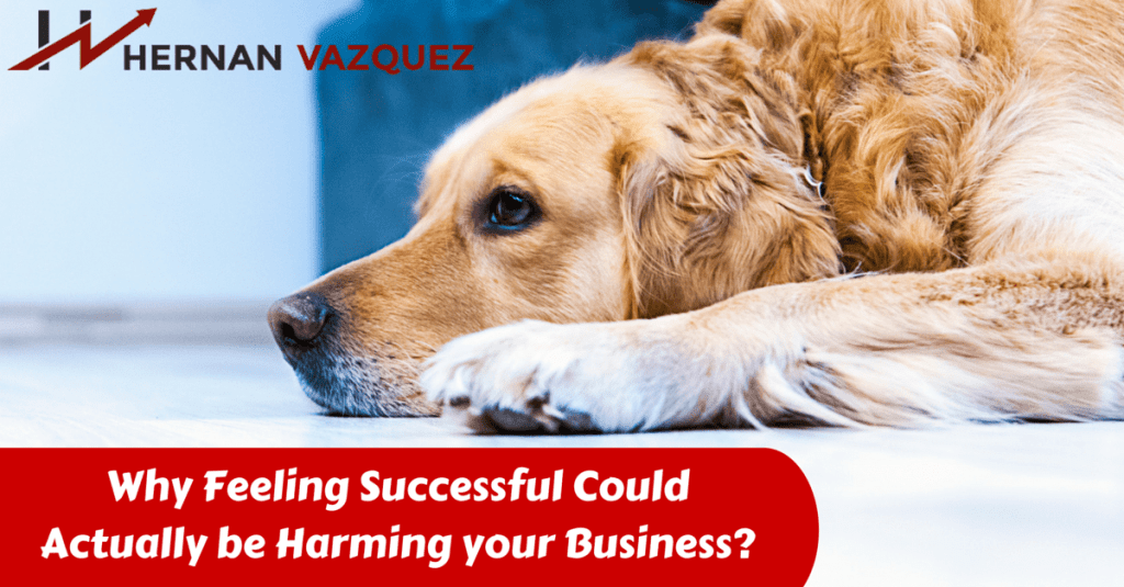 Why Feeling Successful Could Actually be Harming your Business-