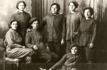 Arbeiterinnen auf der Zeche Friedrich der Große, Repro Norbert Kozicki