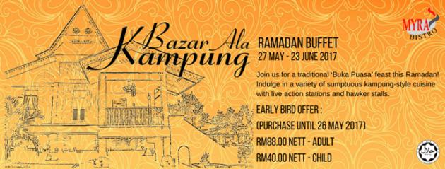 Ramadhan Buffet MSuites Hotel Johor Bahru 2017