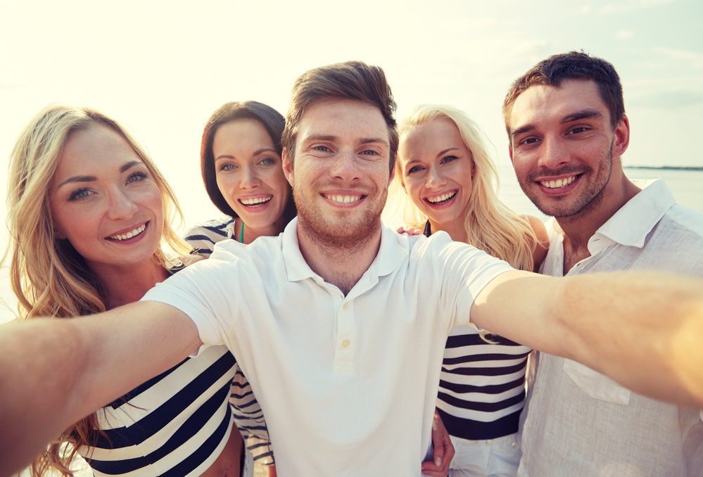 Group-selfie