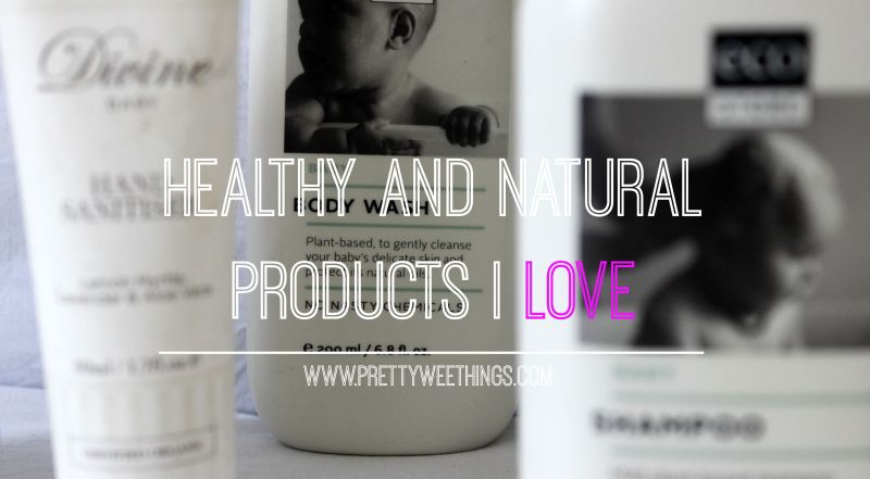 HEALTHY AND NATURAL PRODUCTS I LOVE YOUTUBE