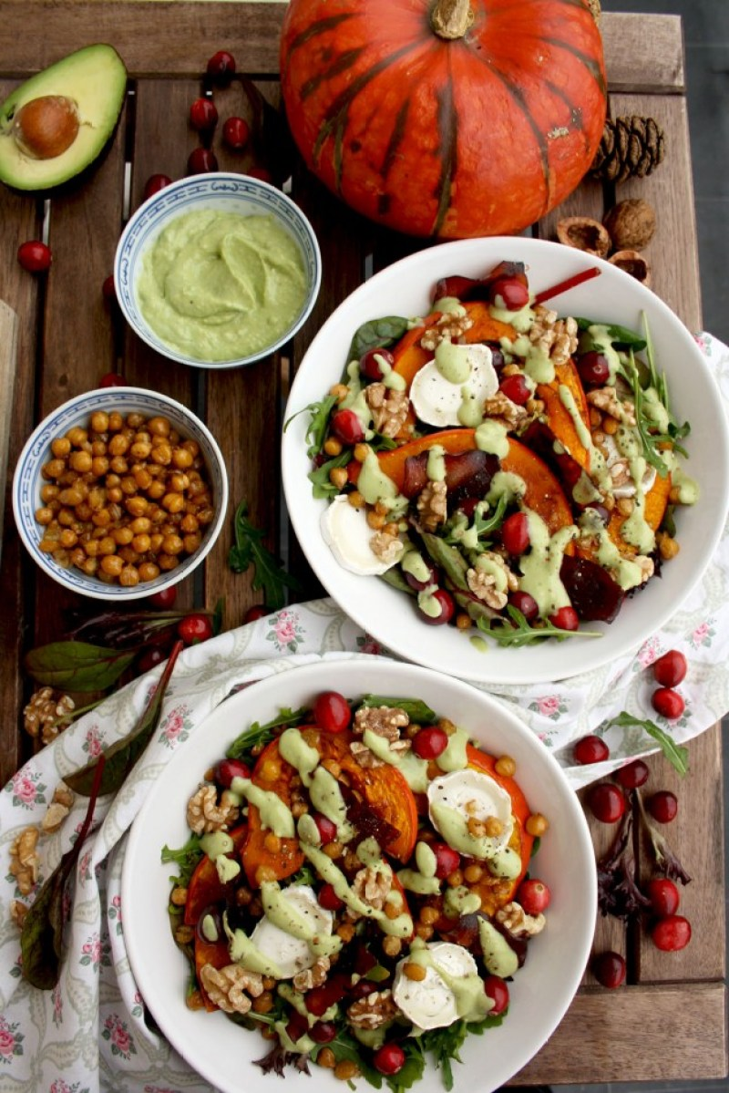 32 of the best healthy Christmas salad recipes from top food bloggers