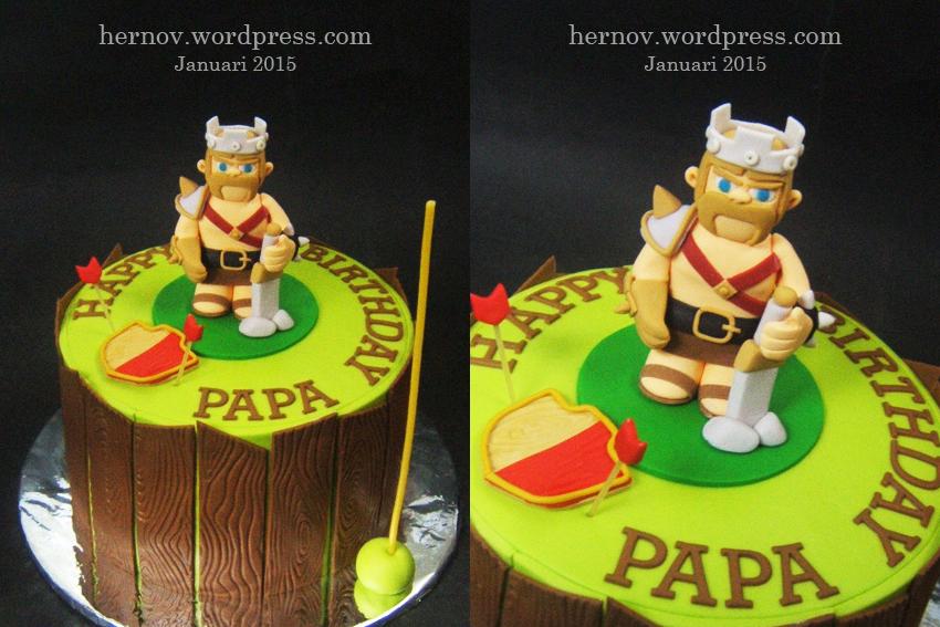 Papa S Clash Of Clan Birthday Cake Hernov Patisserie