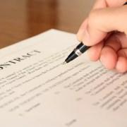 英語の契約書