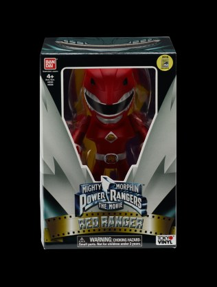 Limited Edition Tokyo Vinyl® Mighty Morphin POWER RANGERS Movie Red Ranger Box