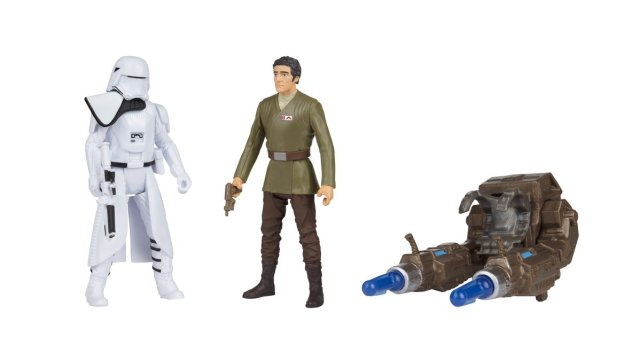 SDCC 2016 Star Wars Poe Dameron vs. First Order Snowtrooper