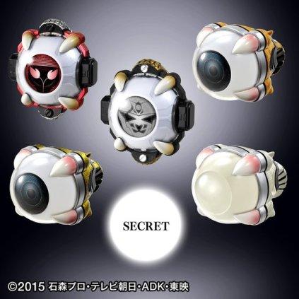 Premium Bandai Kamen Rider Ghost Ganma Eyecon Final Set