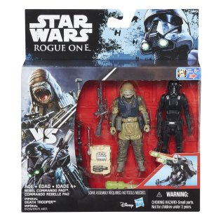 Rogue One Rebel Commando Pao Imperial Death Trooper