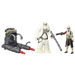 Rogue One Scarif Moroff Stromtrooper Squad Leader Contents