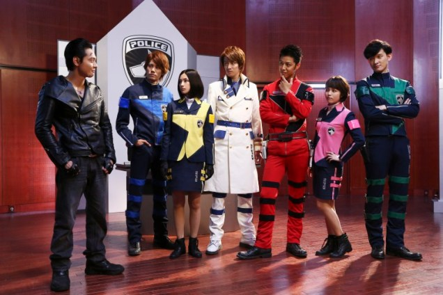 Space Sheriff Gavan vs Dekaranger Promo