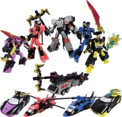 Unite Warriors Megatronia Robots