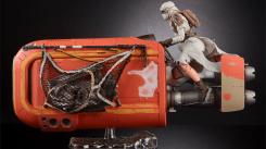 Star Wars The Black Series 6 Inch Rey's Speeder