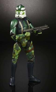 SWCO 2017 Star Wars 6 Inch Black Series Clone Commander Gree 2