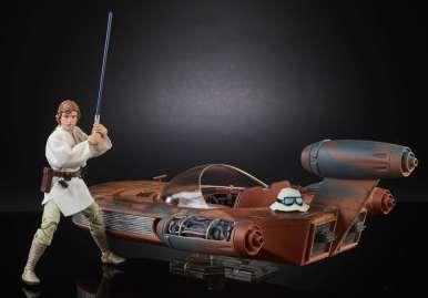 SWCO 2017 Star Wars 6 Inch Black Series Luke Skywalker Landspeeder