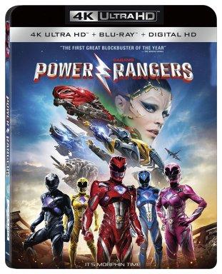 Lionsgate Power Rangers 4K Release