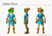The Legend of Zelda Breath of the Wild DLC Pack 1 Korok Mask
