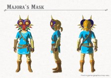 The Legend of Zelda Breath of the Wild DLC Pack 1 Majora's Mask
