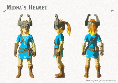 The Legend of Zelda Breath of the Wild DLC Pack 1 Midna's Helmet
