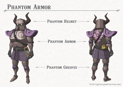 The Legend of Zelda Breath of the Wild DLC Pack 1 Phantom Armor