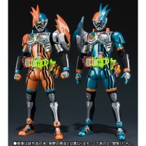 Premium Bandai S.H.Figuarts Kamen Rider Ex-Aid Double Action Gamer Level XX LR Set 2