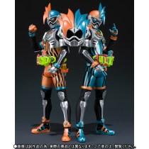 Premium Bandai S.H.Figuarts Kamen Rider Ex-Aid Double Action Gamer Level XX LR Set 4