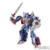 SDCC 2017 Transformers The Last Knight Voyager Class Optimus Prime Robot