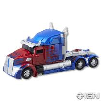 SDCC 2017 Transformers The Last Knight Voyager Class Optimus Prime Vehicle