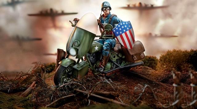 Captain America Bike
