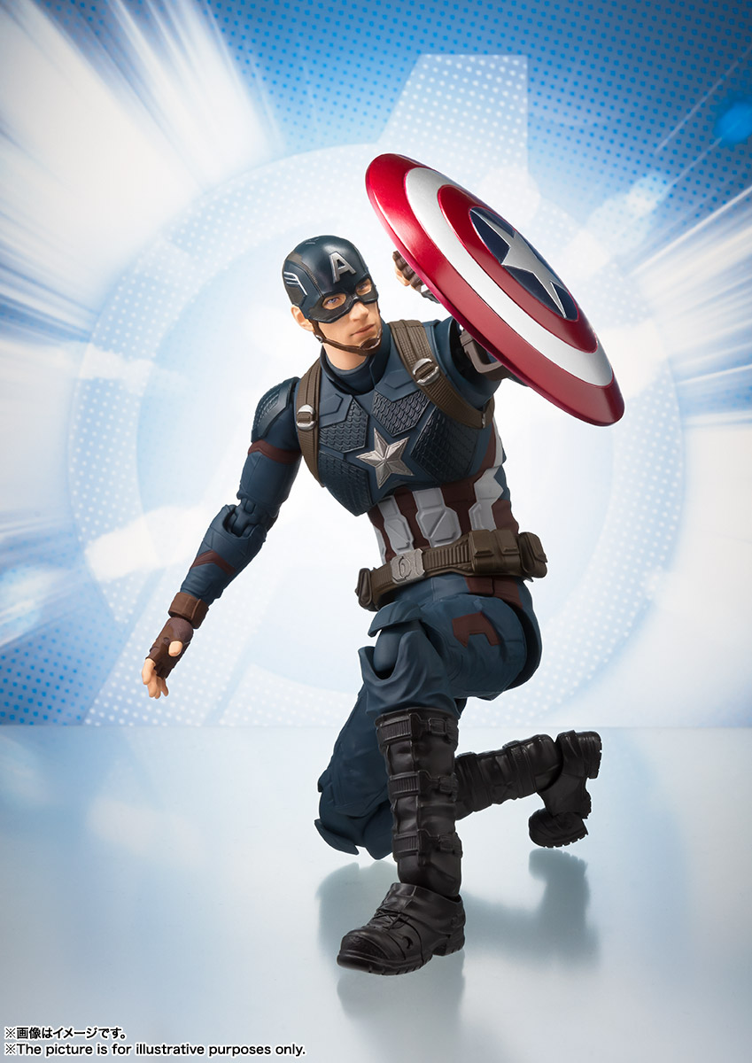 Betere S.H.Figuarts Avengers Endgame Captain America 4 – Hero Club LV-15