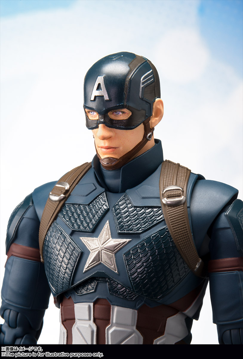 Wonderlijk S.H.Figuarts Avengers Endgame Captain America 9 – Hero Club PB-38