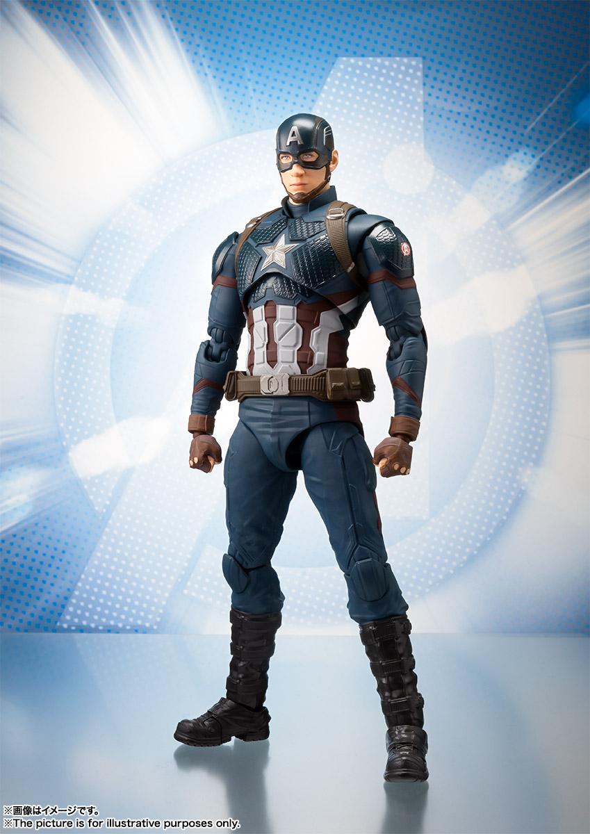 Verwonderend S.H.Figuarts Avengers Endgame Captain America – Hero Club BC-74