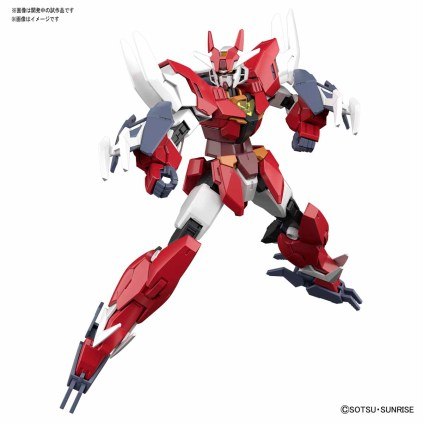 HGBD R 1-144 Core Gundam (Real Type Color)