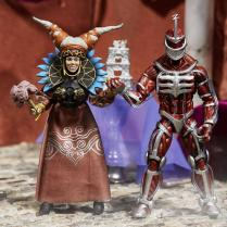 Mighty Morphin Power Rangers Lord Zedd and Rita Repulsa Lightning Collection 2 Pack 3
