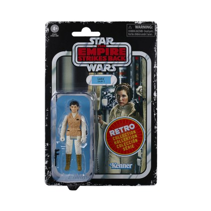 Star Wars Retro Collection Hoth Leia Card