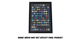 Wonderful 101 Remastered Kickstarter Framed Button Display