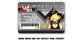 Wonderful 101 Remastered Kickstarter Identification Card