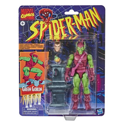 Marvel Legends Retro Green Goblin Card
