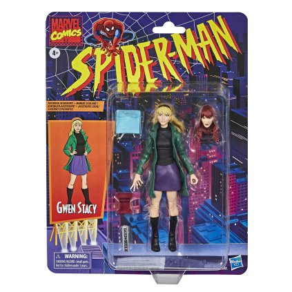 Marvel Legends Retro Gwen Stacy Card