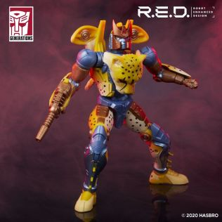 Transformers Red Series Beast Wars Cheetor 5