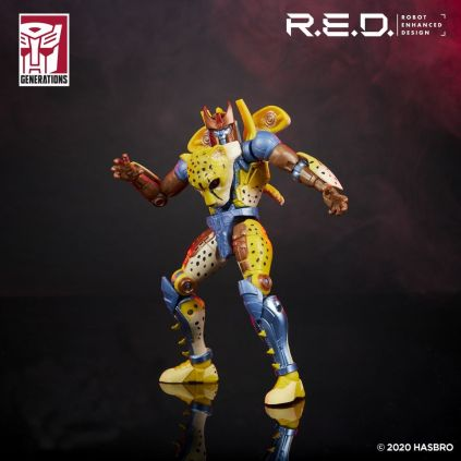 Transformers Red Series Beast Wars Cheetor
