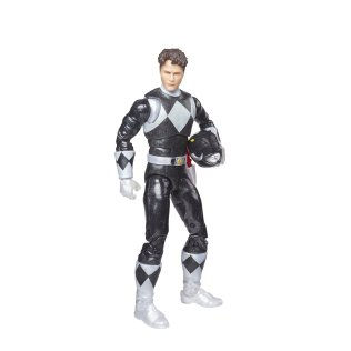 Hasbro Pulse Power Rangers Lightning Collection Metallic Black Ranger 2