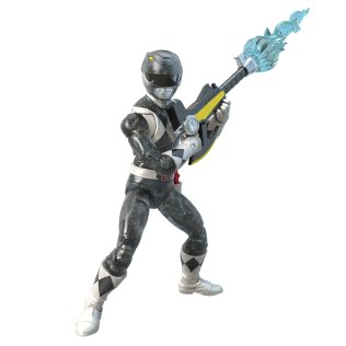 Hasbro Pulse Power Rangers Lightning Collection Metallic Black Ranger