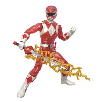 Hasbro Pulse Power Rangers Lightning Collection Metallic Red Ranger 2