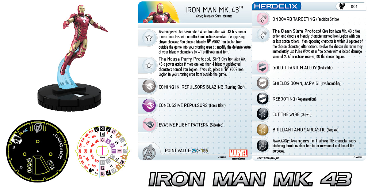 Marvel HeroClix: Age of Ultron Iron Man