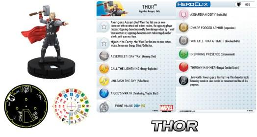 Marvel HeroClix: Age of Ultron Thor