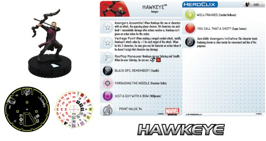 Marvel HeroClix: Age of Ultron Hawkeye