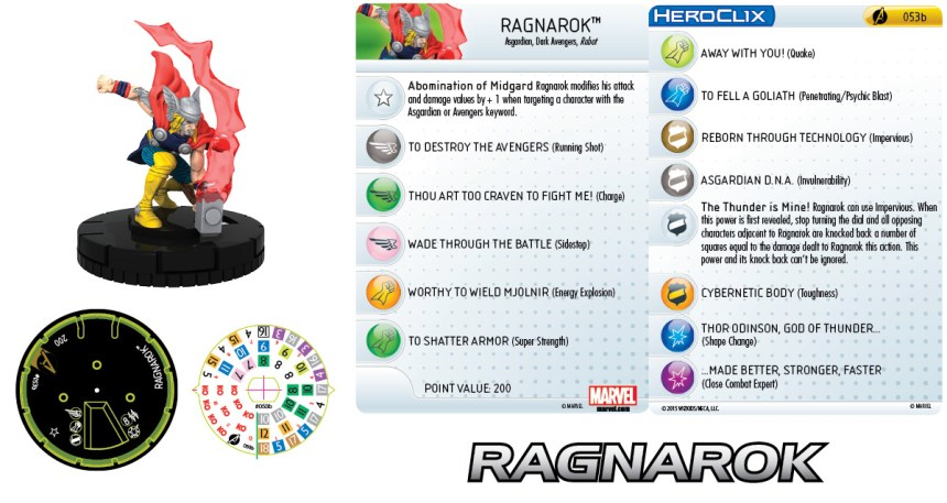 Marvel HeroClix: Avengers Assemble- Ragnarok